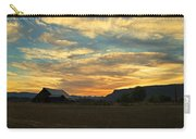 Table Rock Sunset And Barn Carry-all Pouch