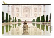Taj Mahal On The Vertical Carry-all Pouch