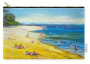 Taking It Easy At Coloundra Beach Queensland Australia Carry-all Pouch