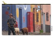 Taking Sheep To Market At Chichicastenango Carry-all Pouch