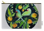 Talkative Parakeets Carry-all Pouch