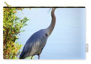 Tall Grey Heron Carry-all Pouch