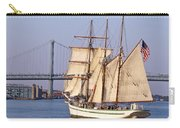 Tall Ship Three Carry-all Pouch