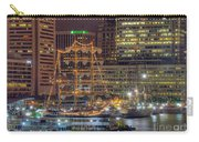 Tall Ships Docked At Inner Harbor Carry-all Pouch