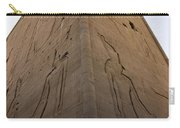 Tall Wall At Edfu Carry-all Pouch by Darcy Michaelchuk