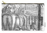 Taming Wild Elephants Carry-all Pouch