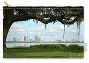 Tampa Skyline Through Old Oak Carry-all Pouch
