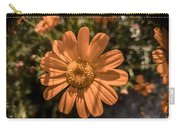 Tanacetum Painted In Red Carry-all Pouch