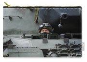 Tank Driver Of A Leopard 1a5 Mbt Carry-all Pouch by Luc De Jaeger