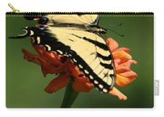 Tantalizing Tiger Swallowtail Butterfly Carry-all Pouch