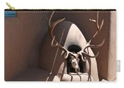 Taos Horno And Antlers Carry-all Pouch