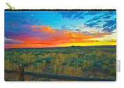 Taos Sunset Ix Carry-all Pouch