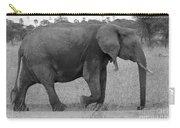Tarangire Elephant On Road Carry-all Pouch