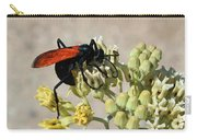 Tarantula Hawk Wasp Carry-all Pouch