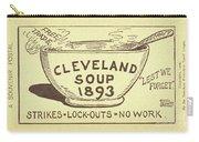 Tariff League Postcard, 1906 Carry-all Pouch