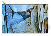 Tattered Paper On A Bulletin Board No.1045 Carry-all Pouch