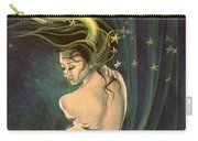 Taurus From Zodiac Series Carry-all Pouch by Dorina  Costras