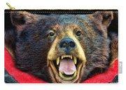 Taxidermy -  Black Bear Carry-all Pouch