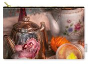 Tea Party - I Would Love To Have Some Tea  Carry-all Pouch by Mike Savad