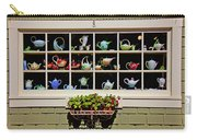 Tea Pots In Window Carry-all Pouch