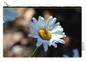 Tea Stained Daisy Carry-all Pouch