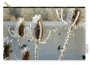 Teasel With Frost Carry-all Pouch