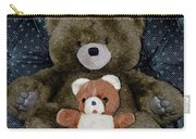 Teddy Elder Care Bear Carry-all Pouch