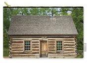 Teddy Roosevelt's Maltese Cross Log Cabin Carry-all Pouch