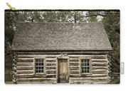 Teddy Roosevelt's Maltese Cross Log Cabin Retro Style Carry-all Pouch