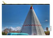 Teepee On Route 66 Carry-all Pouch
