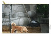 Temple Dog And Buddha Carry-all Pouch