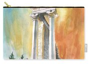 Temple Of Apollo In Kourion Carry-all Pouch
