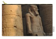 Temple Of Luxor  Egypt Carry-all Pouch