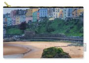 Tenby Over North Beach Painted Carry-all Pouch