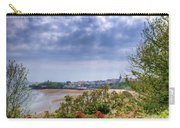 Tenby Pembrokeshire Painted Carry-all Pouch