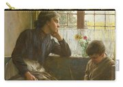 Tender Grace Of A Day That Is Dead Carry-all Pouch by Walter Langley