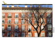 Tenement House Facade In Madrid Carry-all Pouch