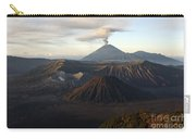 Tengger Caldera With Erupting Mount Carry-all Pouch