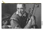 Teniers: The Bagpiper Carry-all Pouch