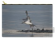 Tern Emerging With Fish Carry-all Pouch