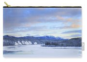Teslin River At Sunset, Teslin, Yukon Carry-all Pouch