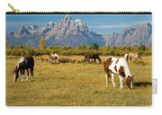 Teton Horses Carry-all Pouch