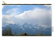 Teton Mountains And Barn Carry-all Pouch
