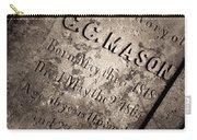 Tcm - C.c. Mason Grave Carry-all Pouch