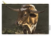 Texas Longhorn # 4 Carry-all Pouch