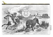 Texas Scene, 1855 Carry-all Pouch