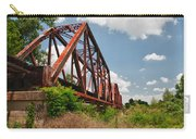 Texas Train Trestle 13984c Carry-all Pouch
