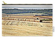 Textured Fields Of France Carry-all Pouch