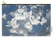 Textured Skies Carry-all Pouch