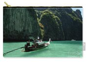Thai Long Tail Boat  Carry-all Pouch